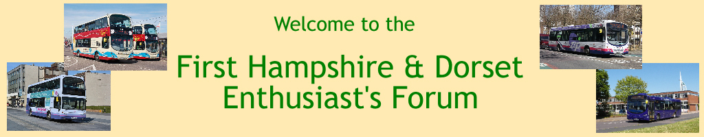 First Hampshire & Dorset Enthusiasts Forums